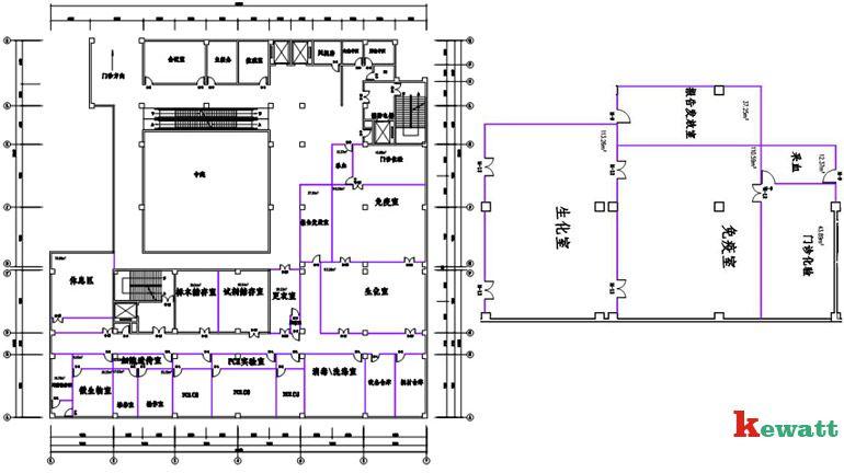 医院检验科内部设计图展示图片